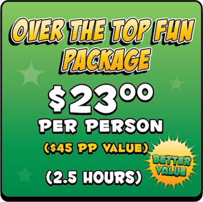 Over the Top Fum Birthday Party Package