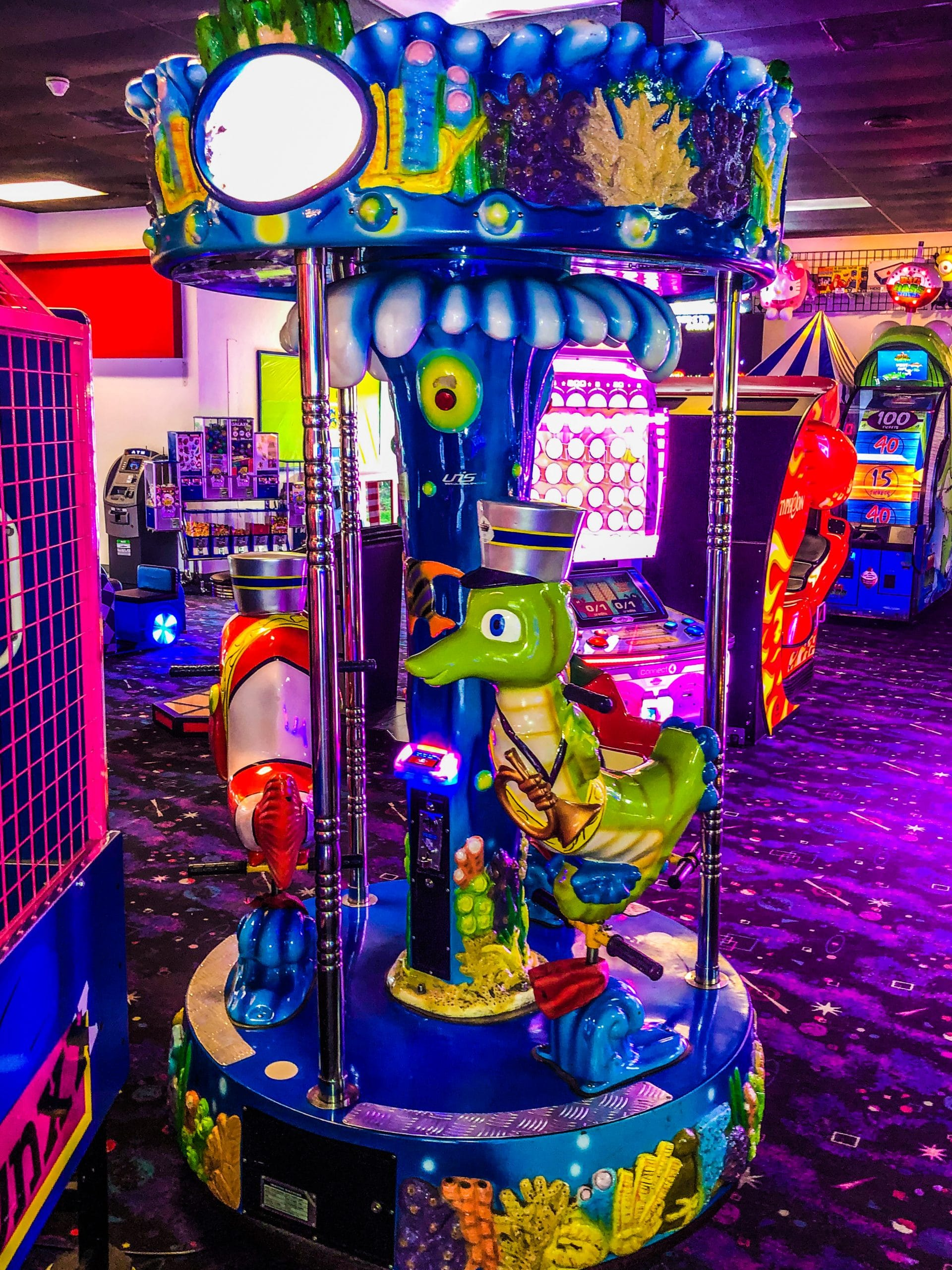Arcade Game - Mini Carousel