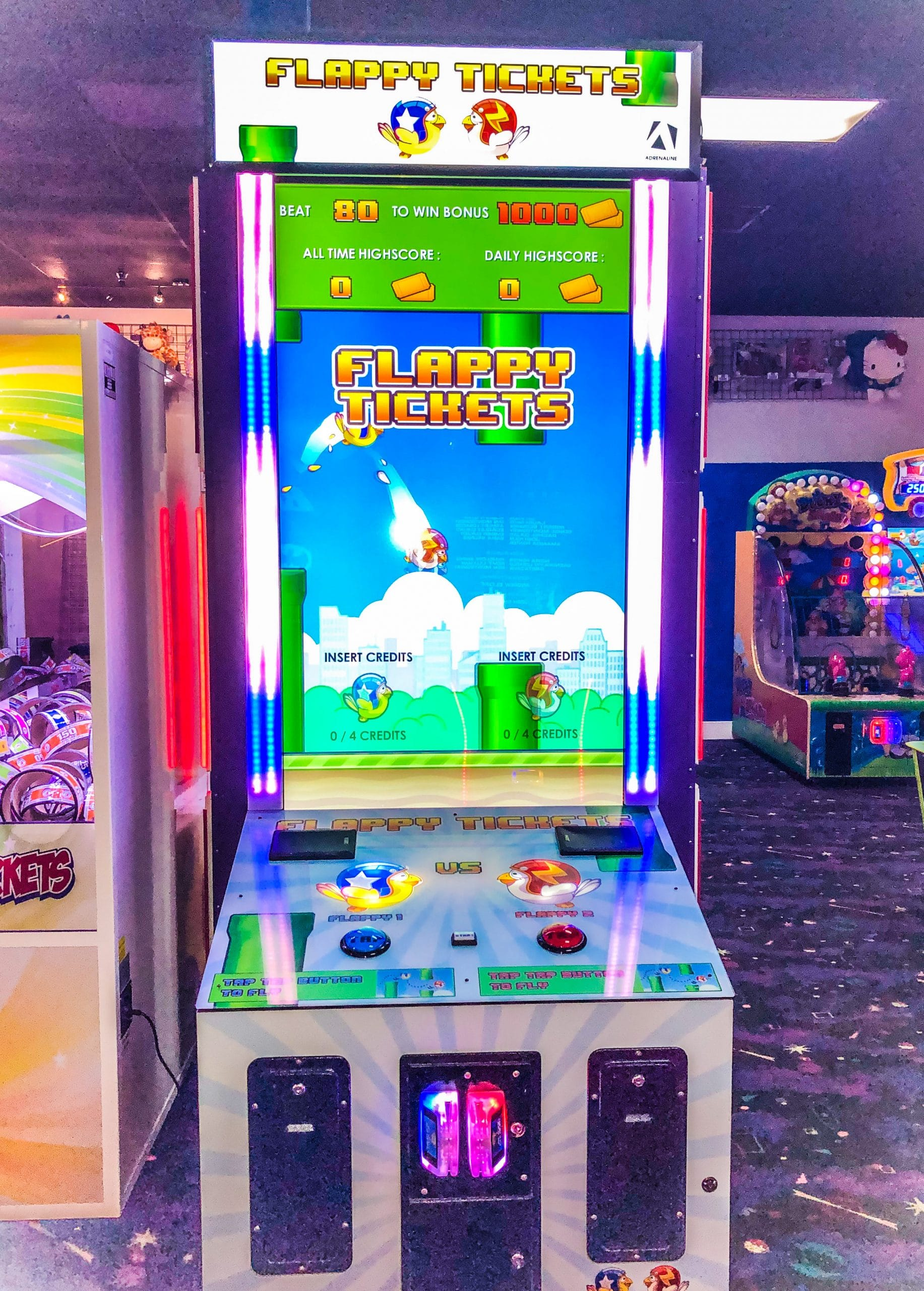 Arcade Game - Flappy Tickets