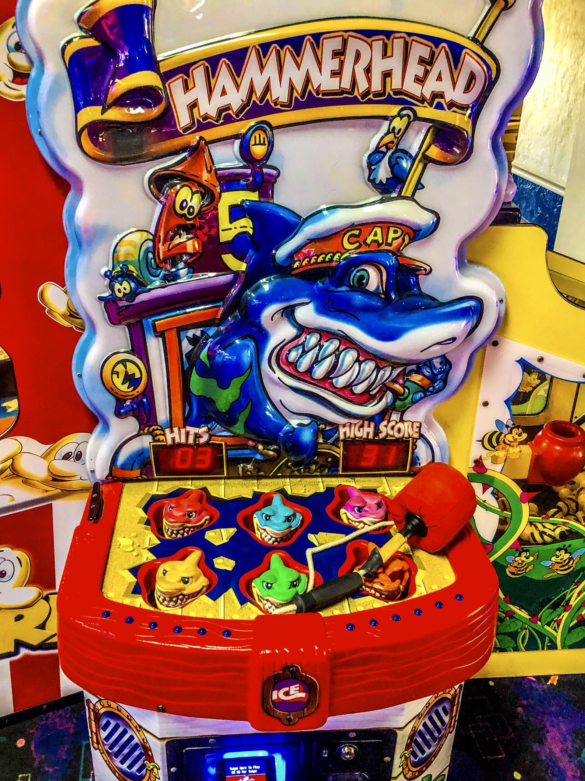Arcade Game - Hammerhead