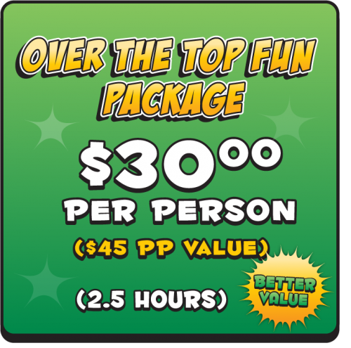 Over the Top Fun Birthday Package